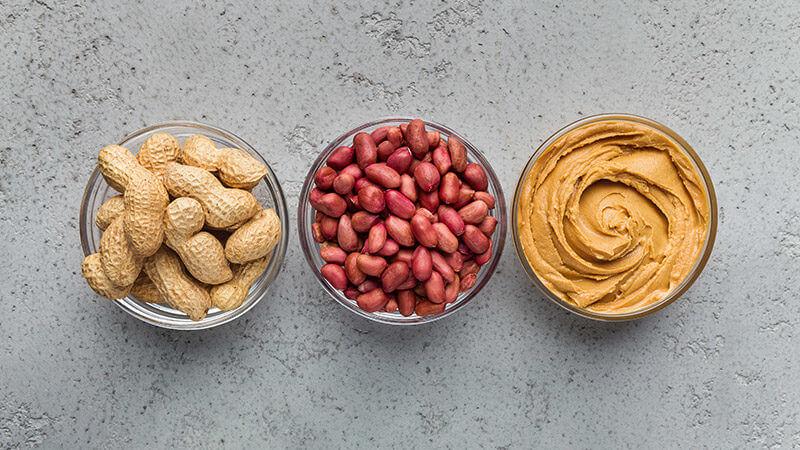 Cacahuetes para Elaborar Receta Crema de Cacahuete Casera