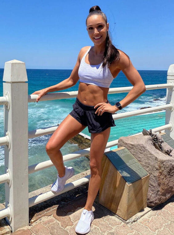 Kayla Itsines Fitgirl Australiana