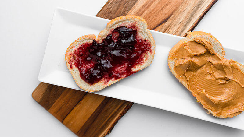 Sandwich de Crema de Cacahuete Fitness