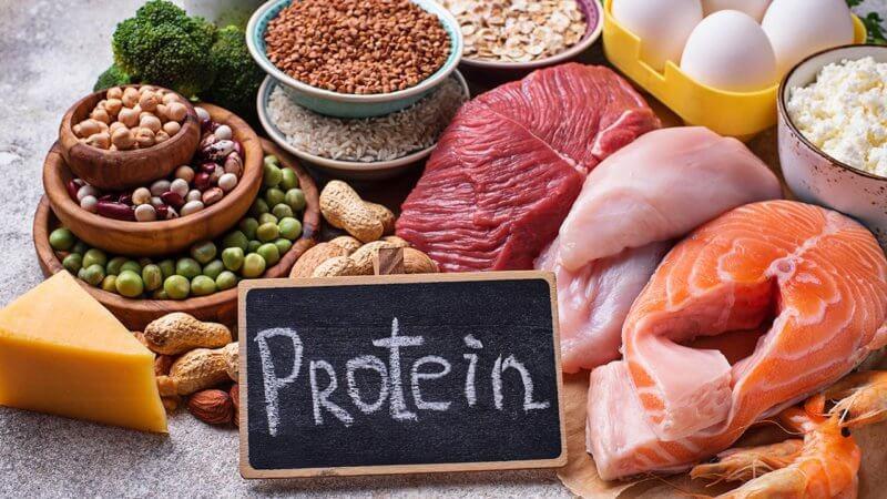Proteinas para absorver hierro