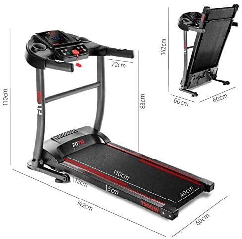 Caracteristicas de la cinta de correr Fitfiu Fitness MC 200